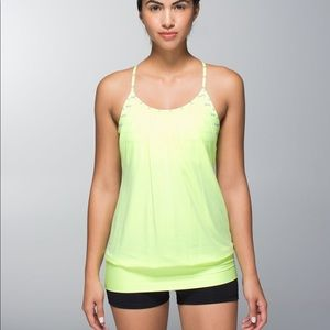 Lululemon No Limits Tank Clear Mint / Deauville